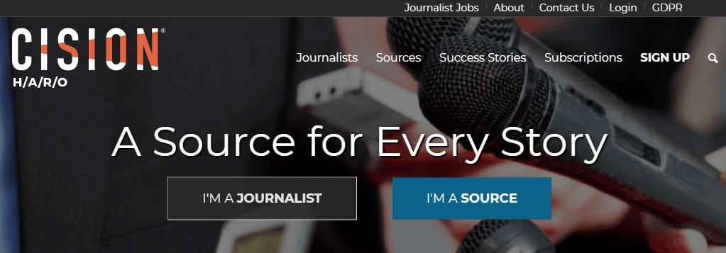 help out a reporter