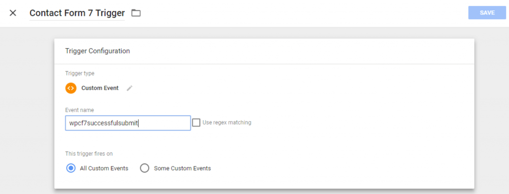 contact form 7 tracking google analytics