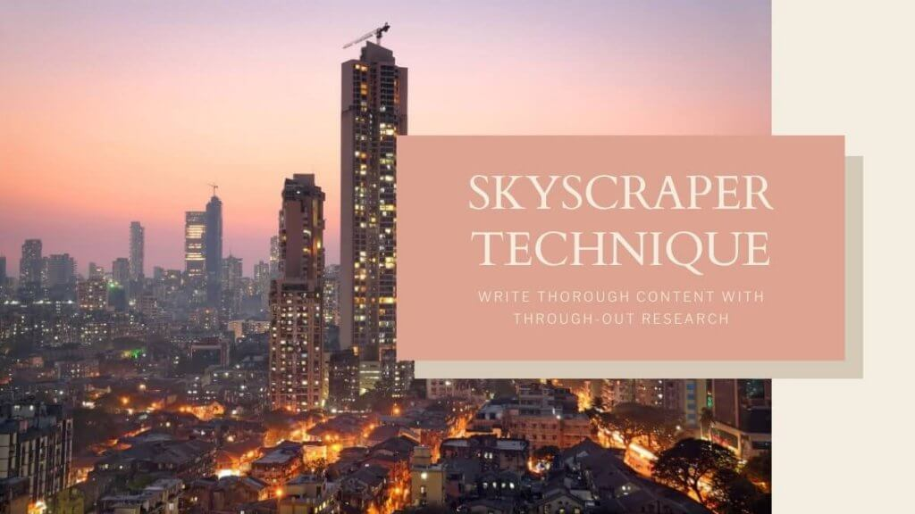 skyscraper technique SEO